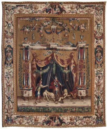 Les Dompteurs & L'offrande à Bacchus - Manufacture Royale de Beauvais - Galerie Hadjer