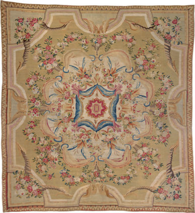 Aubusson carpet Louis XVI - Aubusson Manufactory - Galerie Hadjer