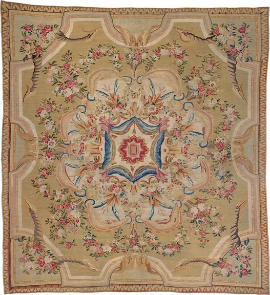 Aubusson carpet Louis XVI - Galerie Hadjer