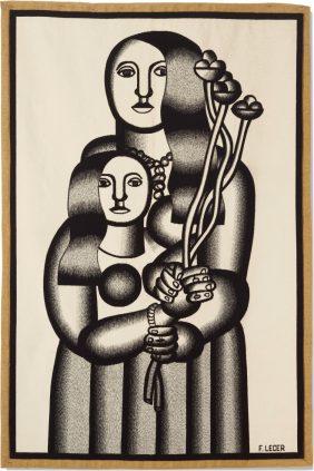 Les deux femmes - Fernand Léger - Galerie Hadjer