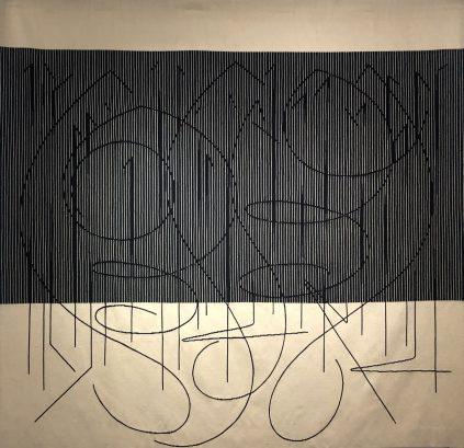 Escritura - Jesús-Rafael Soto - Galerie Hadjer