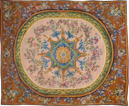 Savonnerie Carpet - Aubusson Manufactory - Galerie Hadjer