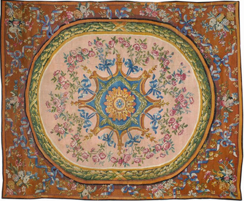 Savonnerie Carpet - Galerie Hadjer