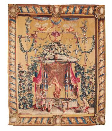 L'offrande à Bacchus - Manufacture Royale de Beauvais - Galerie Hadjer