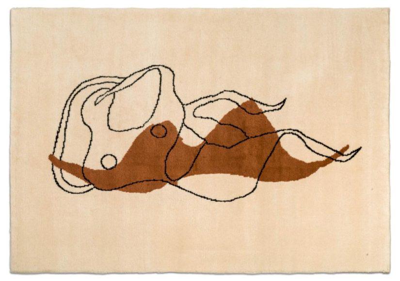 Femme nue allongée - Galerie Hadjer